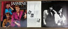 ST. LOUIS JAZZ-POP VOCAL LP LOT: 2 albums by JASMINE Carole Schmidt-Michele Isam