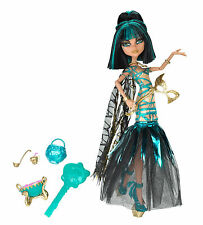 Monster High Cleo de Nile MEGA MONSTERPARTY Gouls Rule Sammlerpuppe SELTEN