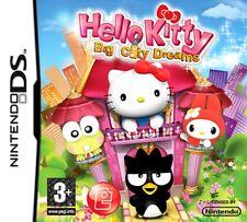 Hello Kitty Gran ciudad sueños niños juego NINTENDO DS DS LITE 3DS 2DS DSI 3DS XL
