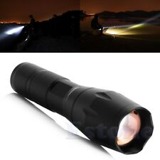 Super Brightest Zoomable T6 LED 2000LM Flashlight CampingTorch FlashLight