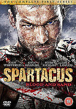 Spartacus - Blood And Sand - Series 1 (DVD, 2011, 4-Disc Set) region 1