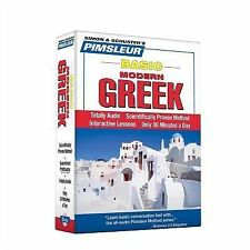 Pimsleur Greek Modern Basic Course - Level 1 Lessons 1-10 CD: Learn to Speak a