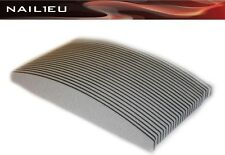 20 x PROFI Feilen HALBMOND 150/150 zebra, 30mm/180mm, 20er Pack / Nagelfeilen