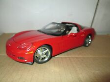 C6 CHEVY CORVETTE RED 1/18 AUTO ART models  LOOSE DISPLAY PIECE