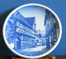 A Royal Copenhagen Mini Wall Plaque 23 -2010 Den Gamble By Aahus [Kaj Lange]
