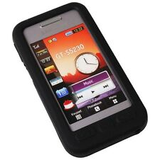 Silicone Case Pocket Gadget for Samsung S5230 black