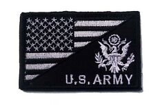 USA FLAG & U.S. ARMY MORALE BADGE TACTICAL MILITARYh PATCHES  PATCH   Sh 576