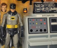 "DC BATMAN 1966 CLASSIC TV SERIES BATMAN and BATCAVE 6"" MATTEL S3 Universe 60's"