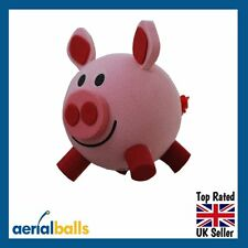 Happy Pink Porky Pig Car Aerial Ball Antenna Topper