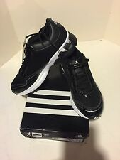 Authentic Adidas Falcon Trainer Black White Sneakers Mens 7.5 G49034 Baseball