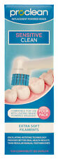 PROCLEAN Replacement Toothbrush Heads (4pk) Oral B Sensitive Compatible -TR1