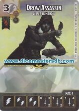 Drow Assassin Lesser Humanoid #30 - Dungeons & Dragons Battle for - Dice Masters