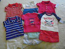 NEW 10 PC. LOT OF NEWBORN BABY BOY CLOTHES 0-6 MONTHS NWT $128