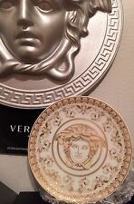 VERSACE MEDUSA GOLD PLATE DISH Candy Coaster ROSENTHAL NEW SALE NOW!