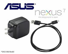 Original ASUS Google Nexus 7 AC Power Adapter Charger + USB Cable AD83531