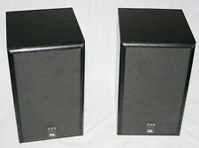"JBL 500 Stereo Bookshelf Speakers 2-Way 4-1/2"" Woofer Pair - G Working Condition"