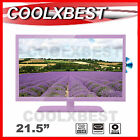 "FULL HD 21.5"" (22"") LED LCD DIGITAL TV w DVD HDMI PURPLE 12v 240v HOME CARAVAN"