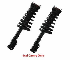 2 Premium Rear Complete Struts With Springs Free Shipping Fit Camry 4cyl Only