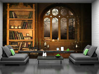 Wizards  Library Wall Mural Photo Wallpaper GIANT WALL DECOR PAPER POSTER