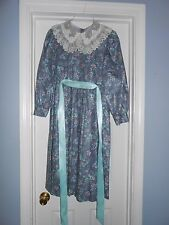 Vintage Girls Sarah Kent Petal Collar Gunnie Sax Dress Size 14 Sack Feed