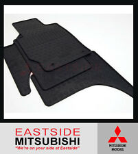 GENUINE MITSUBISHI ML MN MQ TRITON DUAL CAB RUBBER FLOOR MATS FULL SET 2007-2017
