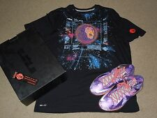 NIKE LEBRON X 10 ALL-STAR AREA 72 SHOES SHIRT LOT 2013 10.5 jordan OG air mag