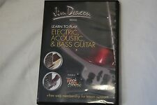 Dvd- Jim Deacon - Learn To Play - Electric, Acoustic And Bass Guitar