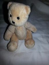 American Girl BITTY BABY DOLL JOINTED TEDDY BEAR TINY 5-6 INCH
