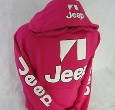 Jeep Hoodie // Hot Pink Hooded Sweatshirt // Unisex Fit Size S-XL