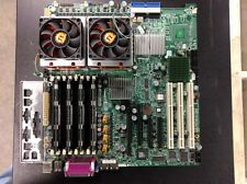 Super Micro Computer X7DBE Motherboard Dual E5440 2.83Ghz Quad Core CPU 8GB