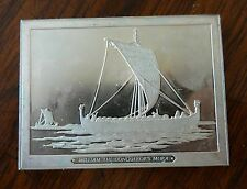 Franklin Mint Great Sailing Ships of History Sterling Ingot William the Conquero