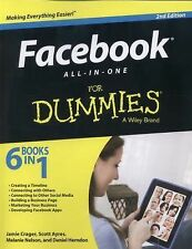 Facebook All-in-One For Dummies, Stay, Jesse, Herndon, Daniel, Nelson, Melanie,