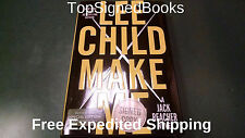 SIGNED Make Me by Lee Child first edition and print new Hardcover, autographed