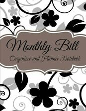 Monthly Bill Organizer and Planner Notebook (Budget Planners-Extra Large) (Volum