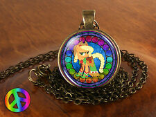 My Little Pony Friendship is Magic Apple Jack Necklace Pendant Jewelry Toy Gift