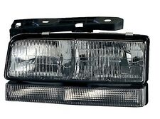 Fits 92 93 94 95 96 Buick Lesabre DRIVER Headlight with Black Trim NEW