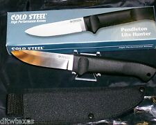 Cold Steel Pendleton Lite Hunter Fixed Blade Knife Cordura Sheath included New