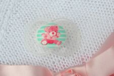 PJs ❤️  Lil` Teddy Bear ❤️ DUMMY PACIFIER SOOTHER + MAGNET FOR REBORN BABY DOLL