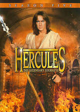 Hercules The Legendary Journeys Season 5 (DVD) BRAND NEW BAR CODE MARKED ON BACK