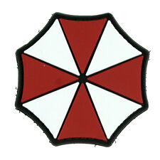 Round Resident Logo Evil PVC Morale Patch Umbrella Corporation Tactical