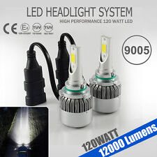 High Power 120W 12000LM LED 9005 HB3 Headlight Bulb High Beam Car Lamp Kit White