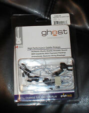 Ghost Graphtech high performance acoustic saddles for guitar Parker Fly Mojo etc