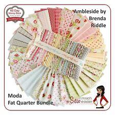 Moda Ambleside Fat Quarter 1/4 Bundle Fabric quarters vintage floral shabby-chic