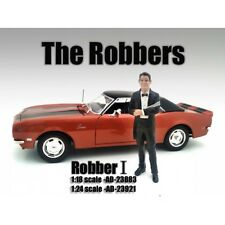 """THE ROBBERS"" ROBBER I FIGURE FOR 1:18 SCALE MODELS BY AMERICAN DIORAMA 23883"