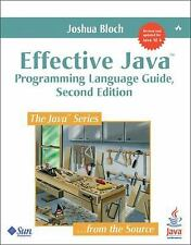 Java: Effective Java by Joshua Bloch (2008, Paperback)