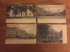 Lot of 4 Vintage Watertown NY Postcards, Post Office Public Square Woodruff 1905