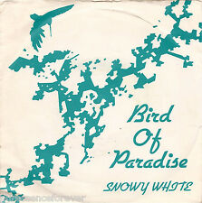 "SNOWY WHITE - Bird Of Paradise (UK 2 Tk 1983 7"" Single PS)"