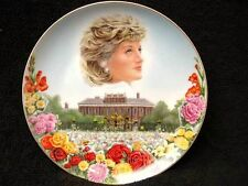 COMPTON WOODHOUSE A SEA OF FLOWERS PRINCESS DIANA 1st ANNIVERSARY PLATE WEDGWOOD