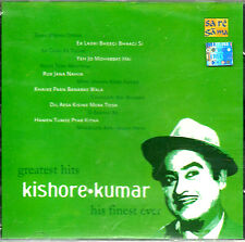 GREATEST HITS KISHORE KUMAR HIS FINEST EVER - BOLLYWOOD SONGS CD - FREE UK POST