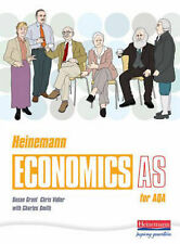 Heinemann Economics AS for AQA: AS Student Book,GOOD Book